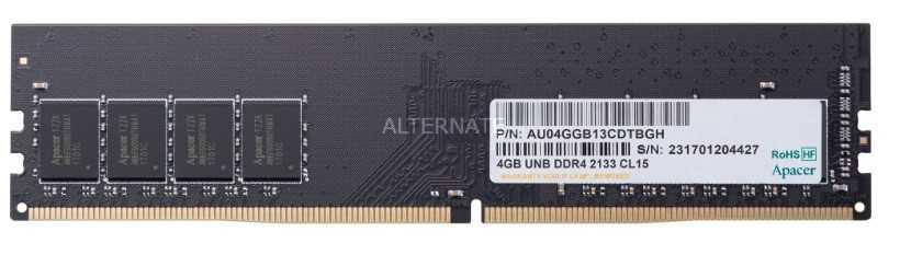Apacer AU04GGB13CDTBGH, RAM